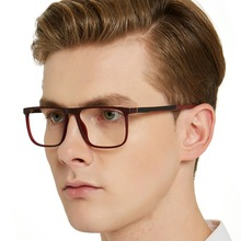 Anti Blue Light Computer Eyeglasses Frame Men Myopia Glasses Nerd Optical Spectacle Frames With Box MARE AZZURO OC7100