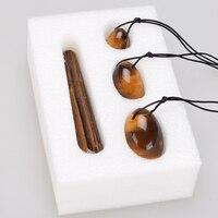 Yoni Egg Massager Crystal Massage Wand Ben Wa Balls Jade Egg Magic Pleasure Stick For Women