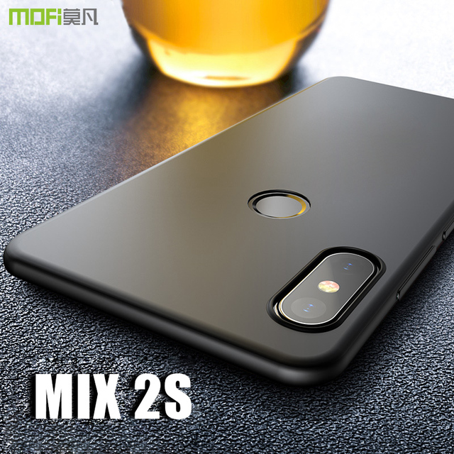 buy online b79b2 b7161 US $6.49 35% OFF|mi mix 2s Case Cover MOFI For Xiaomi Mi Mix 2S Hard PC  Back Cover Case For Mi Mix 2s Full Cover Mix2s Frosted Case Capa coque -in  ...