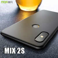mi mix 2s Case Cover MOFI For Xiaomi Mi Mix 2S Hard PC Back Cover Case For Mi Mix 2s Full Cover Mix2s Frosted Case Capa coque