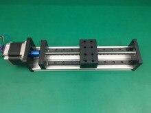 GX80 1605 sürgülü masa etkili inme 300mm kılavuz rayı XYZ eksen lineer motion + 1 adet nema 23 step motor
