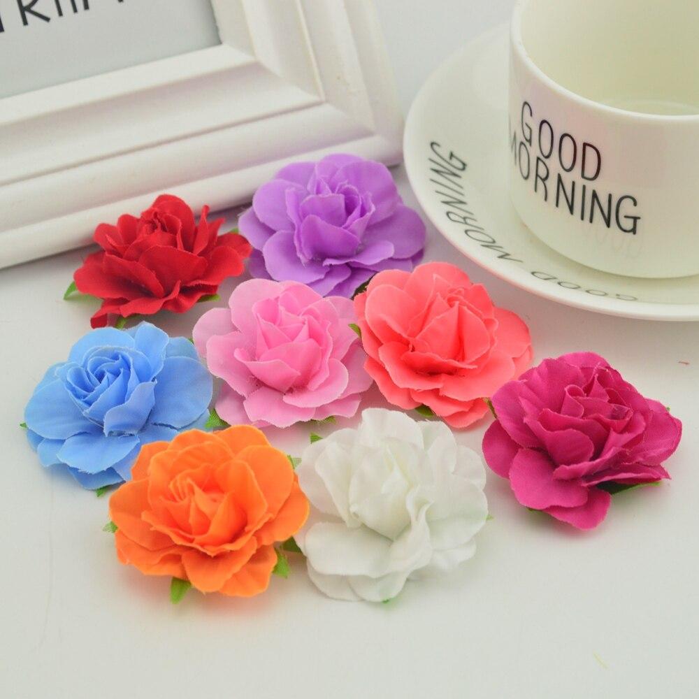 Artificial Wedding Flowers Cheap Diy Giftbox For Needlework Wrist