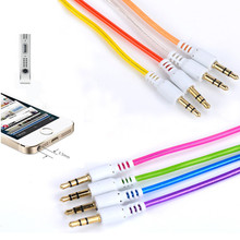 Tiptop NEW 3.5mm Male to Male Car Aux Auxiliary Cord Stereo Audio Cable for iPod Free Shipping L623