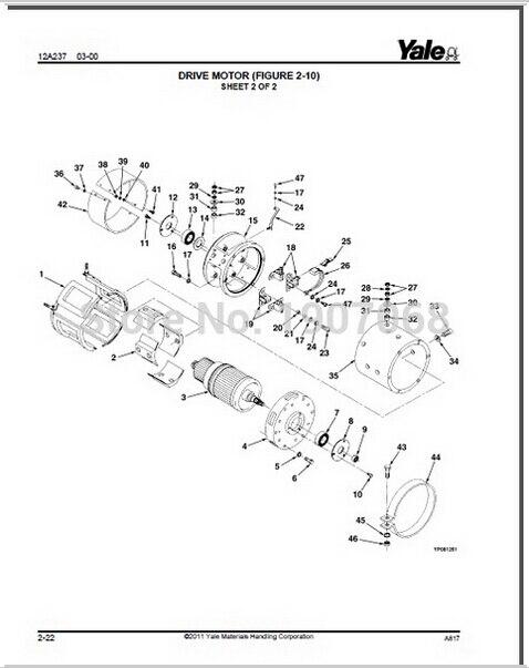 Aliexpress.com : Buy Yale Wiring Diagrams , Service Manuals Class ...