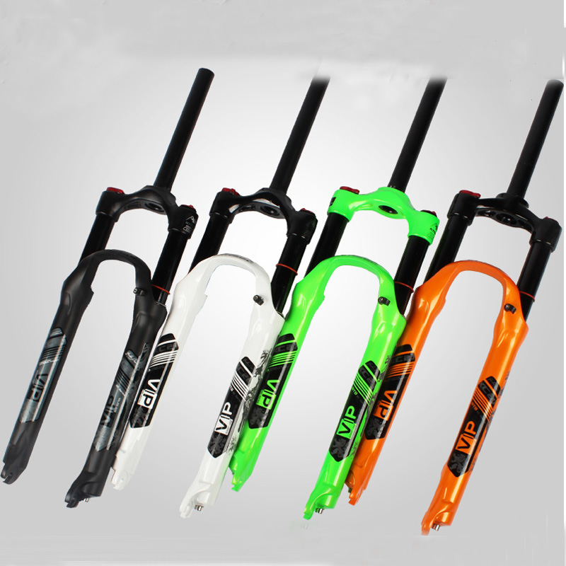 2017 Bicycle fork MTB mountain bike fork 26 27.5 High quality bicycle air suspension fork mtb gas fork Black, white, green kiwat 2012 26 front suspension fork for mountain bike bicycle black