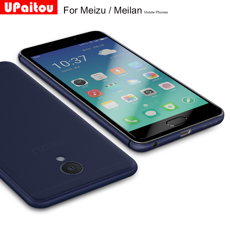UPaitou Ultra Thin Soft Matte Case For Meizu Pro 5 6 6S 7 Plus MX6 Meilan M5 M5S Mini Note M5 M3X Metal M6 Note Back Cover Case
