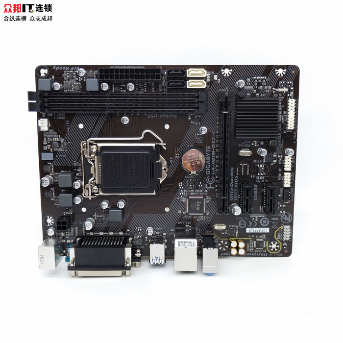 Gigabyte GA-H81M-DS2 H81 motherboard LGA1150 pin support G3260 new original original ga 9ildth 604