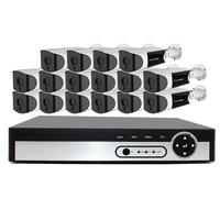 NVR kit 16 шт. 4,0 м IP Камера обнаружения движения Ночное видение CCTV Камера безопасности Камера Системы комплект видеонаблюдения Full HD комплект ви...