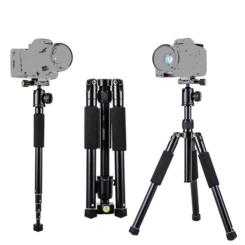 New Professional Tripod Monopod Video Camcorder Tripod with Ball Head Gimbal Camera Stand 1/4 screw for Nikon/Canon/DSLR/SLR 4pcs new for ball uff bes m18mg noc80b s04g