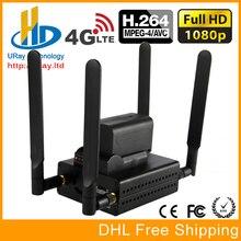 MPEG-4 H.264 /AVC 3G/ 4G LTE 1080P HD HDMI Video Encoder HDMI Transmitter Live Broadcast Encoder wireless H264 IPTV Encoder WIFI