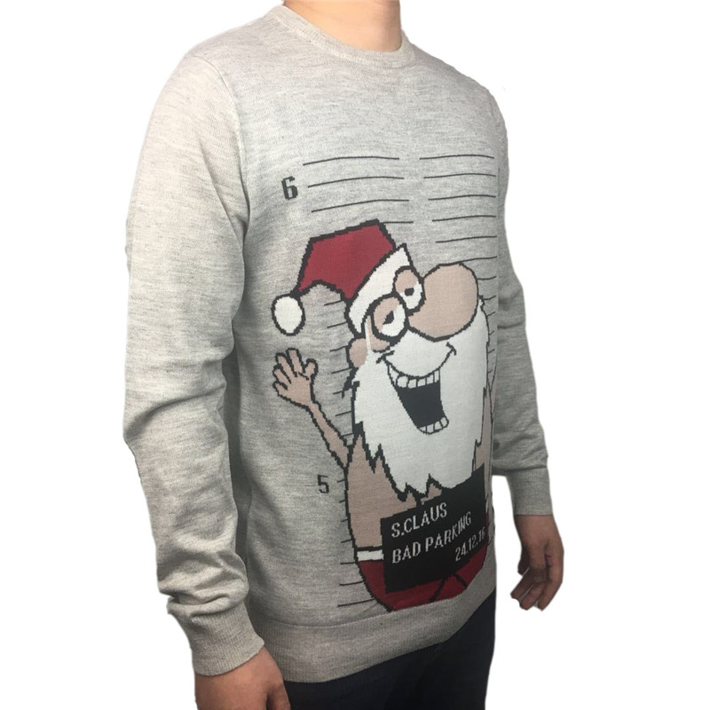 9ad7dd812 2019 Funny Knitted Ugly Christmas Sweaters For Men Cute Women Busted ...