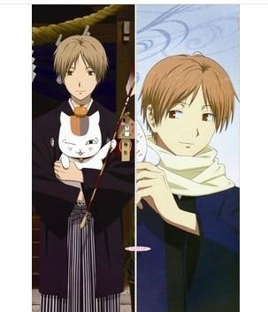 Livraison gratuite Anime Dakimakura: le livre d'amis de Natsume serrant la taie d'oreiller (natsume takashi, un chat, habillé)