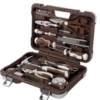 27pcs Household Electrician Maintenance Tools Kit Electrician Hardware Tools Set Multi Functional Portable Hardware Tool AK E027