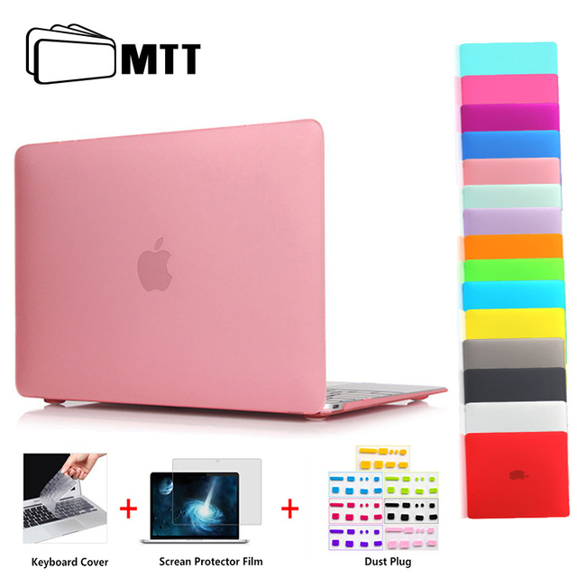meet b5df6 54050 US $15.02 10% OFF|MTT Matte Hard Case Cover For Macbook Air 13 inch A1932  2018 Laptop Sleeve for macbook Air Pro Retina 11 12 13 15 With Touch Bar-in  ...