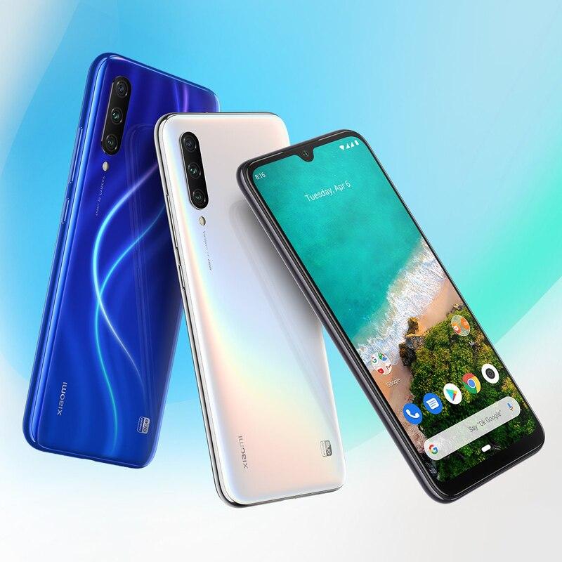 "Image 3 - New Arrival Xiaomi Mi A3 6.088"" AMOLED 4GB 64GB 48MP Smartphone Snapdragon 665 Octa Core In screen Fingerprint 4030mAh Cellphone-in Cellphones from Cellphones & Telecommunications"
