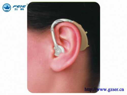 Guangzhou new arrival behind ear enhance sound hearing aid hearing feie dropshipping S-268 aparelho auditivo guangzhou feie factory ea vf29
