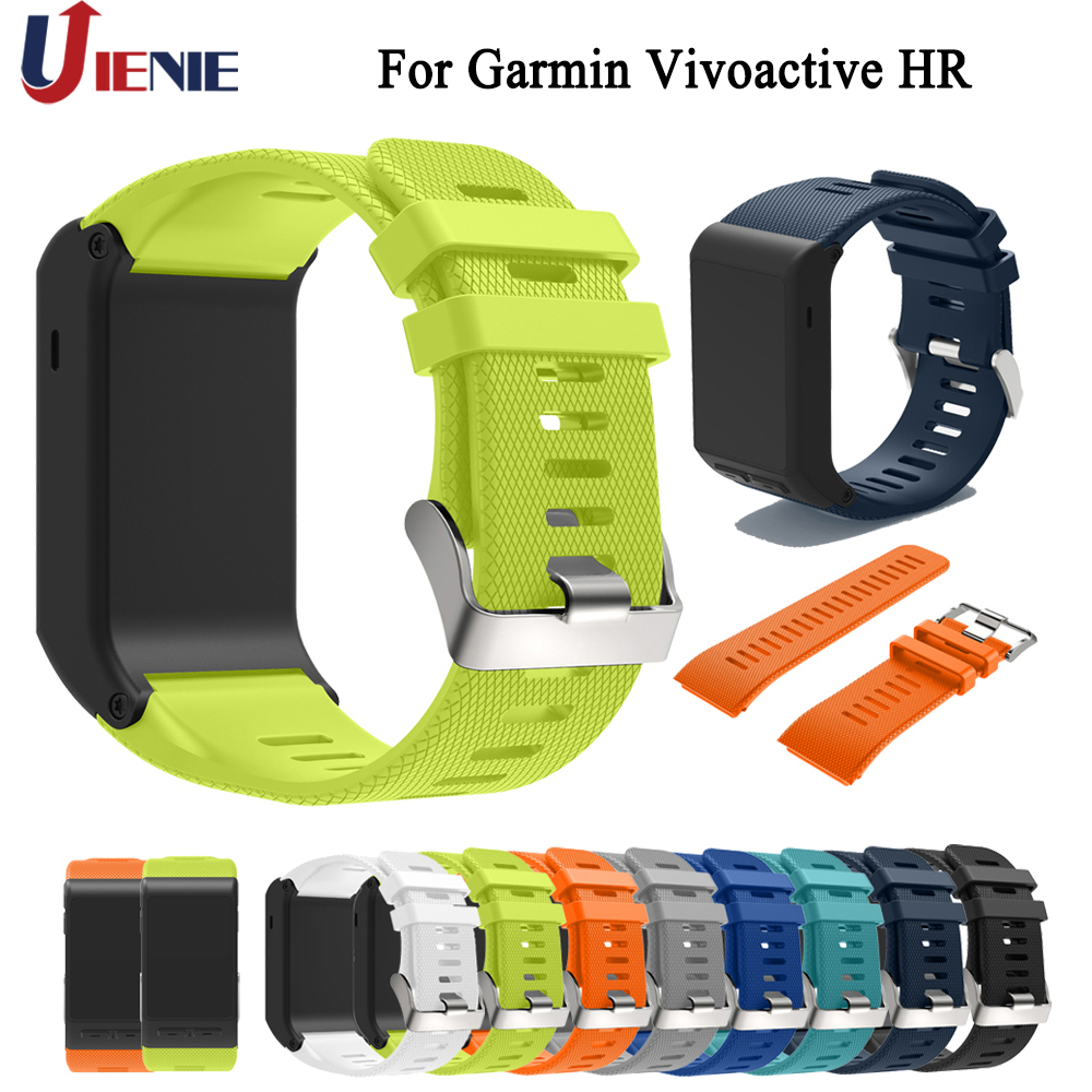 Watchband Straps for Garmin Vivoactive HR Smart Watch Band Sport  Silicone Wrist Strap Replace Bracelet for Vivoactive HR