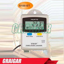 Sale S100-ET+ LCD display 43000 reading temperature data logger High accuracy Temp.