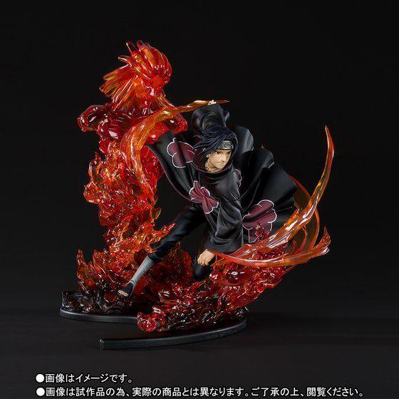 F-zero Naruto Uchiha Itachi & Uchiha Sasuke Anime Action Toy Figures Model Collection Toys 22cm