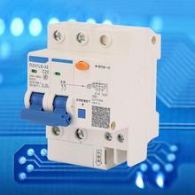 DZ47LE-32 2P+2 C20 Circuit Breaker 20A 230V Miniature RCCB Residual Current Circuit Breaker 2P RCCB стоимость