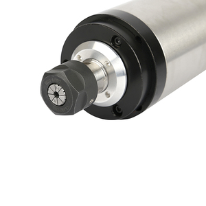 Image 4 - CNC 2200W 수냉 스핀들 모터 220V 2.2KW 80mm ER20 수냉식 스핀들 조각 밀링 머신.