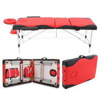 Abody 84''L Facial SPA Bed Therapy Massage Bed 3 Fold Portable Massager Table Mixed Color Tattoo Beauty Salon Device Relaxation