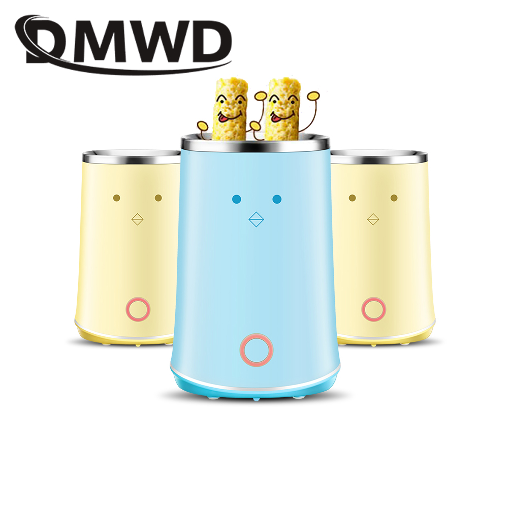 DMWD Electric Mini Dual Egg Roll Maker cup Boiler Omelette breakfast double fried Egg Master boiled eggs sausage machine cooker