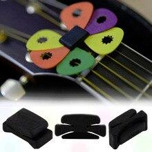 3 шт. Профессиональный 25x11x11 мм гитарный головной убор палочки держатель резиновые Музыкальные инструменты Лидер продаж по всему миру