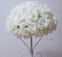 SPR 2pcs/lot 50CM Pomander rose ball Free shipping bride holding flower wedding kissing flower ball party/home decoration flower