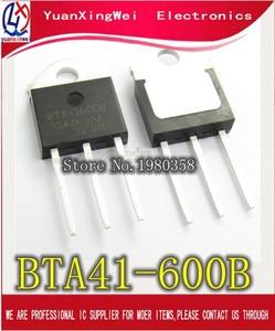 Image 1 - 5 Cái/lốc BTA41 600B BTA41600B BTA41 BTA41 600B Triacs 40 AMP 600 Volt TO 3P Mới Ban Đầu