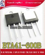 5PCS/lot BTA41 600B BTA41600B BTA41 BTA41 600B Triacs 40 Amp 600 Volt TO 3P new original