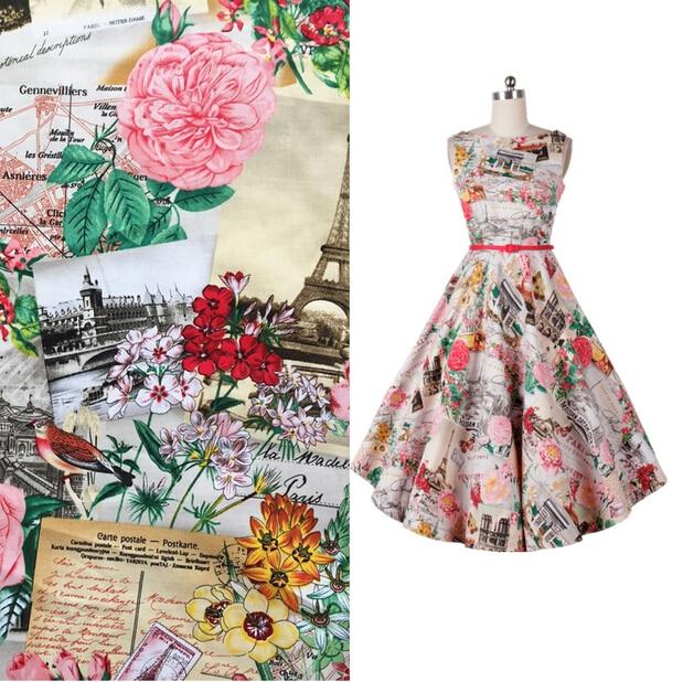 Popular Vintage Fabric Print-Buy Cheap Vintage Fabric Print lots ...