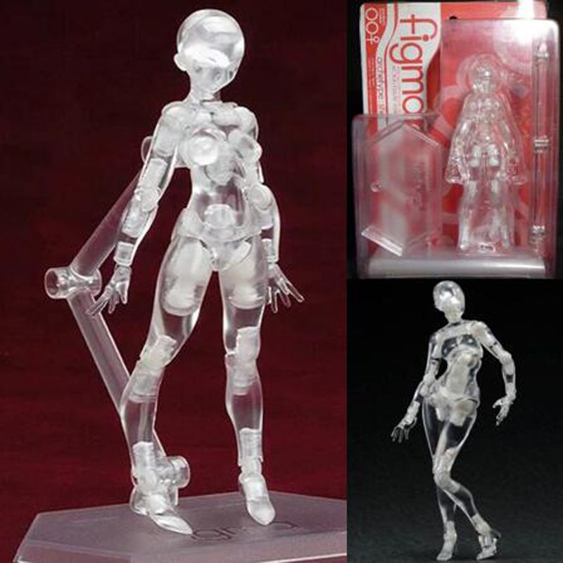 Anime movable Joint male and female action model ferrite with box 13cm collection model figures PVC T7059