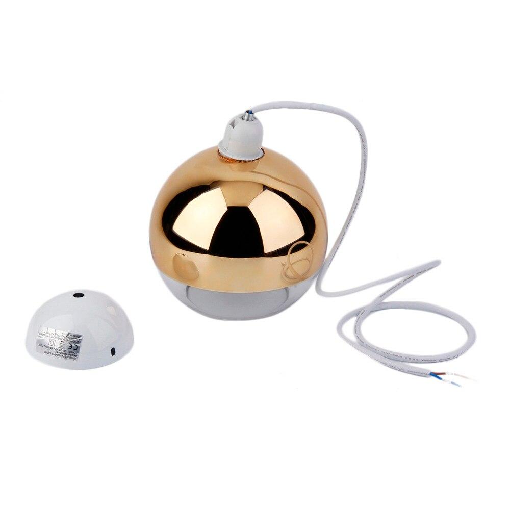 Hot Modern Glass Globe Uplighter Ceiling Pendant Light Lamp Shades Homen Decor