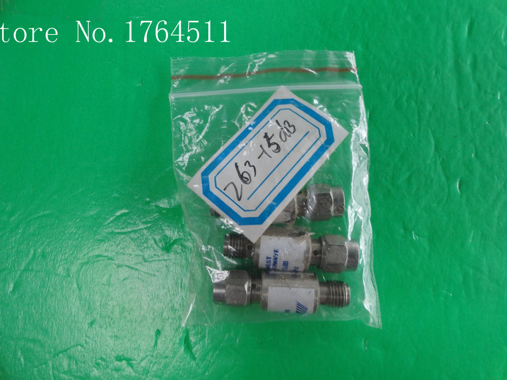 [BELLA] MIDWEST 263-15dB DC-18GHz 15dB 2W SMA Coaxial Fixed Attenuator  --2PCS/LOT