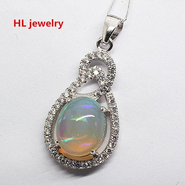 9x11mm fire natural opal pendant 925 silver jewelry necklace for 9x11mm fire natural opal pendant 925 silver jewelry necklace for women christmas gift australia natural opal aloadofball Choice Image
