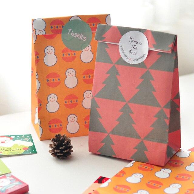 Korea Style Creative Christmas Gift Bags candy bags cute Christmas ...
