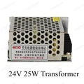 Fuente de alimentación de conmutación de entrada de ca 110 v 220 v de salida DC 24 V 25 W tamaño mini fuente de alimentación para luces led Iluminación Transformers