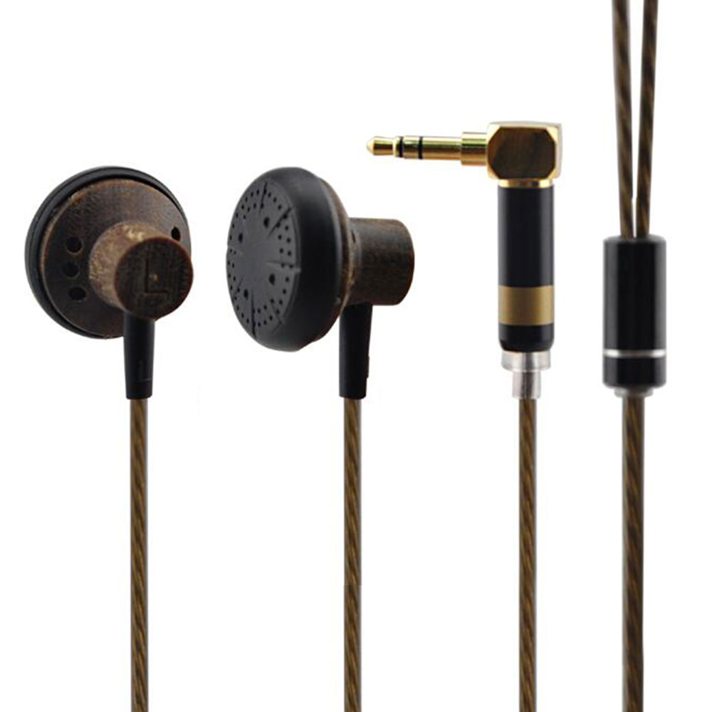 Newest YINMAN 150ohm Earbuds Wooden HIFI  Earphone High Impendence Headset Better Than Monk Earburd
