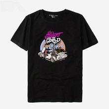 T-shirt à manches courtes, à la mode, Lil Uzi Vert, Tour Luv Is Rage, le vrai Uzi Vs le monde hauts gratuite