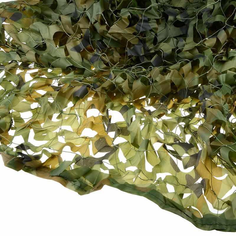 قماش القنب 2*1.5 متر في الهواء الطلق ملجأ للشمس بجودة عالية مظلات تخييم وتنزه شبكة مموهة للصيد والتخييم
