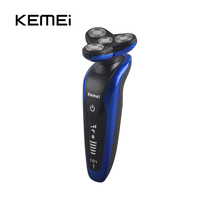 3 In 1 Washable Rechargeable Electric Shaver 3D Floating Triple Blade Electric Shaving Razors Men Face
