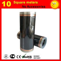 10 Square meters far infrared heating film for floor heating of bed room