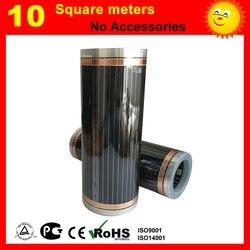 10 platz meter weit infrarot heizung film für boden heizung von bett zimmer