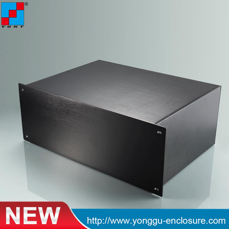 YGH-002--4u 482*178*320mm  Aluminum  instrument flat box / aluminum rack mount шагомер 31 век ygh 735
