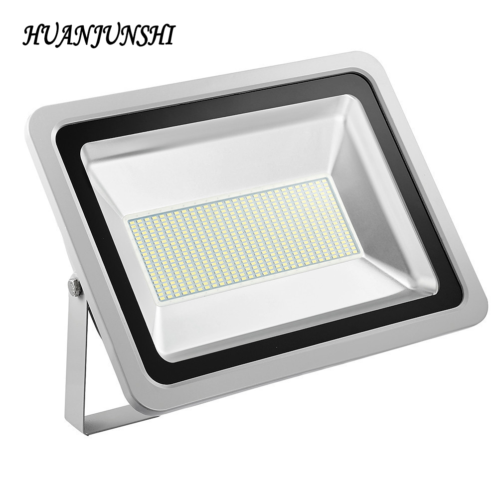 5PCS New LED Floodlight 300W Reflector Led Spotlight Outdoor Flood Lighting Wall Lamp Garden Security Light Warm/Cold White ultrathin led flood light 100w led floodlight ip65 waterproof ac85v 265v warm cold white led spotlight outdoor lighting