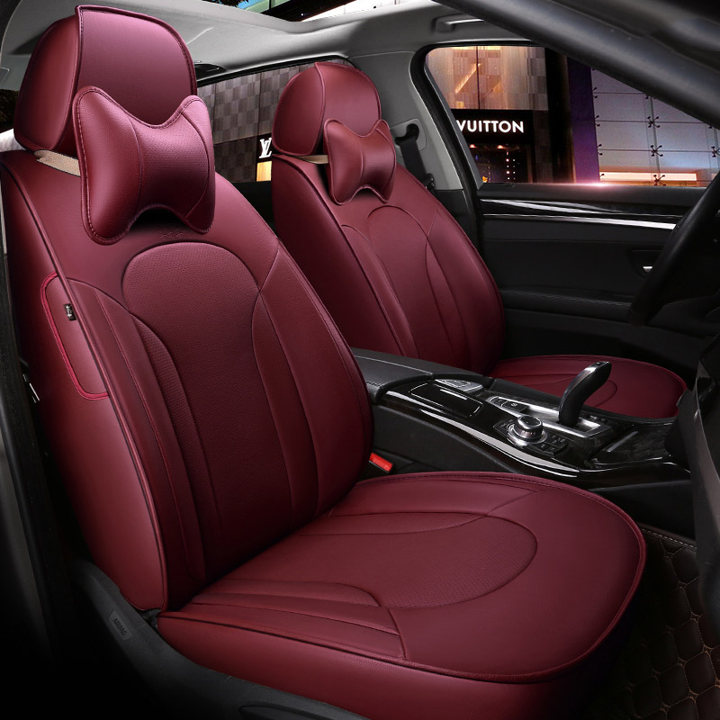 custom made leather car seat covers for toyota rav4 prado highlander corolla camry prius reiz. Black Bedroom Furniture Sets. Home Design Ideas