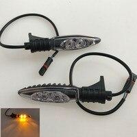 Para bmw hp4 s1000rr s1000xr r1200gs r1200r r1200rs s1000r motocicleta frente ou traseira led turn signal indicador de luz blinker blinker led -