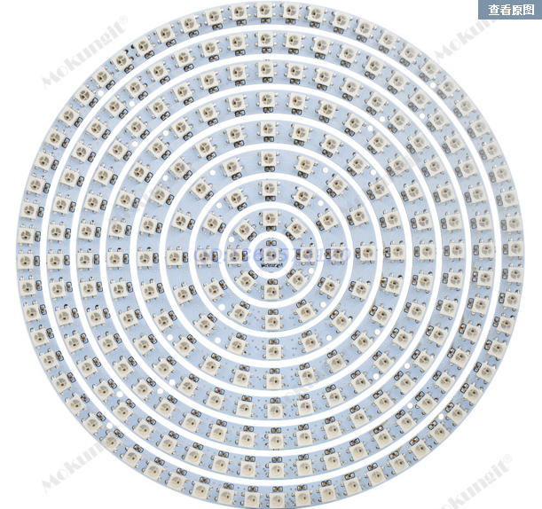 SK6812 Ring WS2812B Ring Full Color RGBW Small Circle 5V Built-in Point Control Circular Ring Lamp Board other voices full circle cd