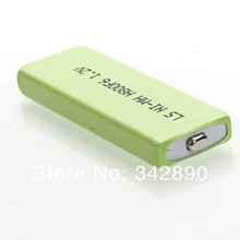 High Quality 2pcs/Lot  LS NI-MH 1.2V 800MAH F6/80 Battery Green Freeshipping